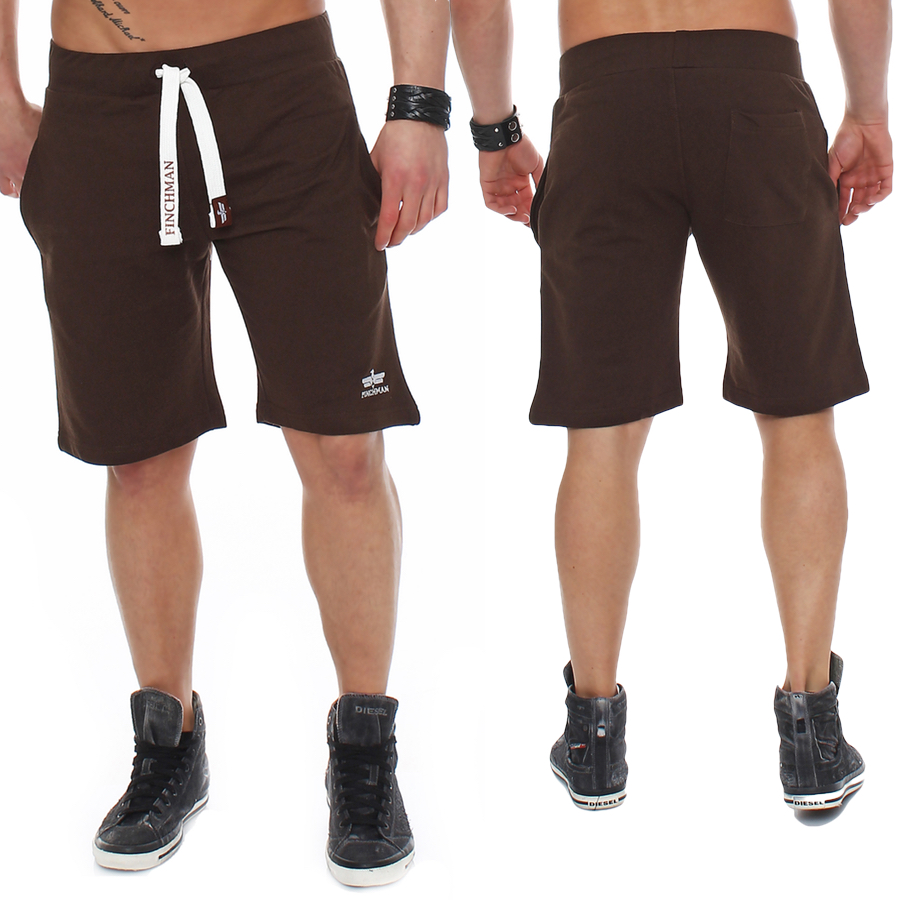 Finchman-Herren-Cotton-Sweat-Short-Kurze-Hose-Bermuda-Sweatpant