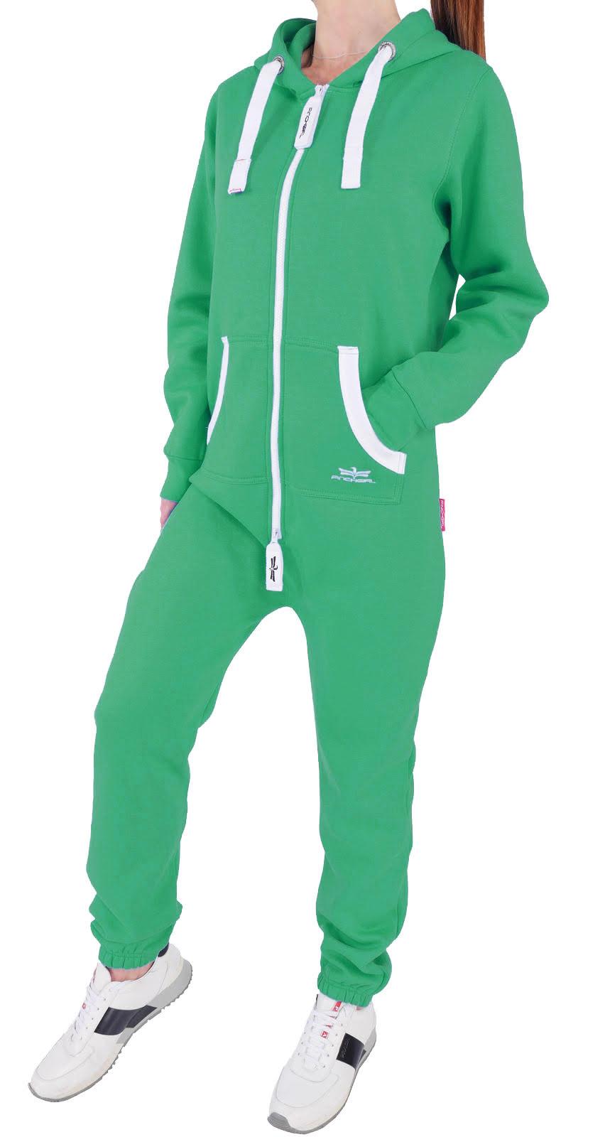 finchgirl damen jumpsuit jogger einteiler jogging anzug. Black Bedroom Furniture Sets. Home Design Ideas