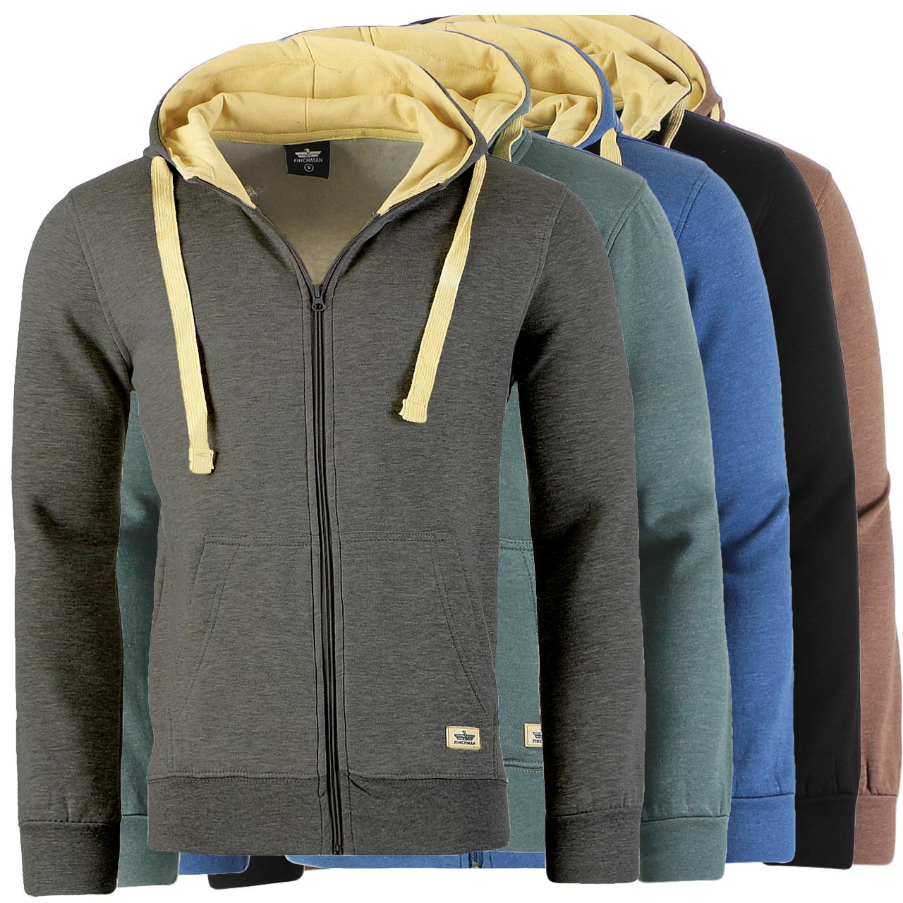 finchman herren jacke sweatshirt hoodie full zip kapuzen. Black Bedroom Furniture Sets. Home Design Ideas