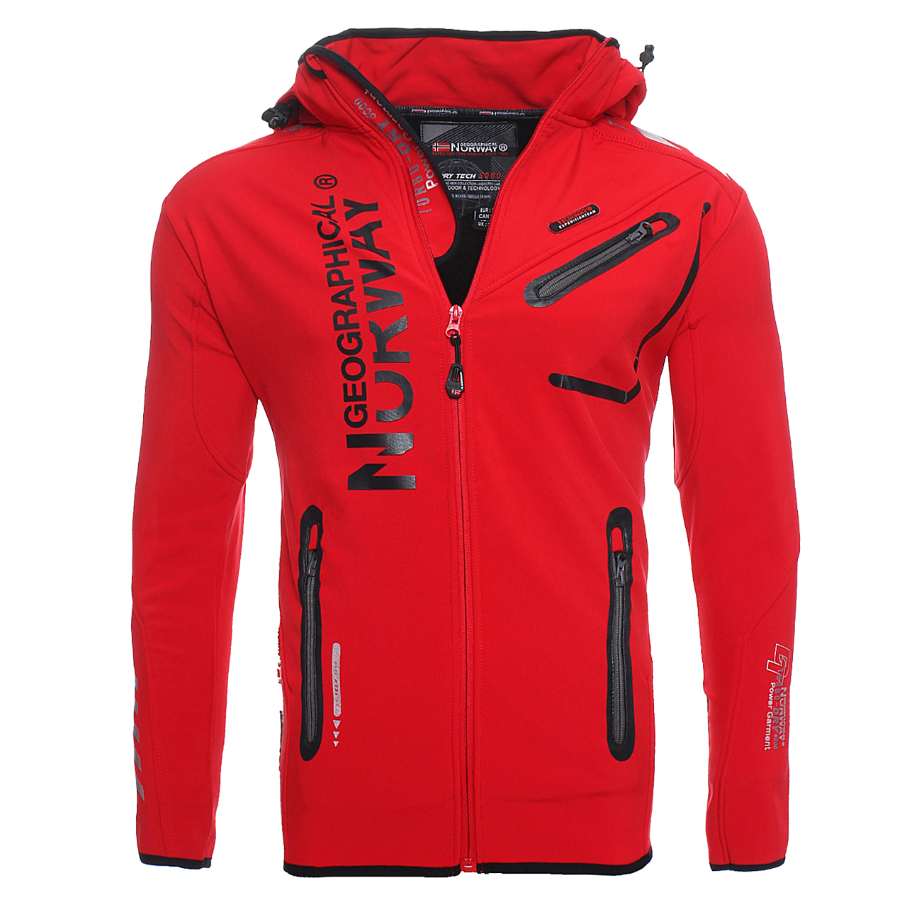 Geographical-Norway-Richier-Hommes-Softshell-Veste-Outdoor-Fonction-Veste