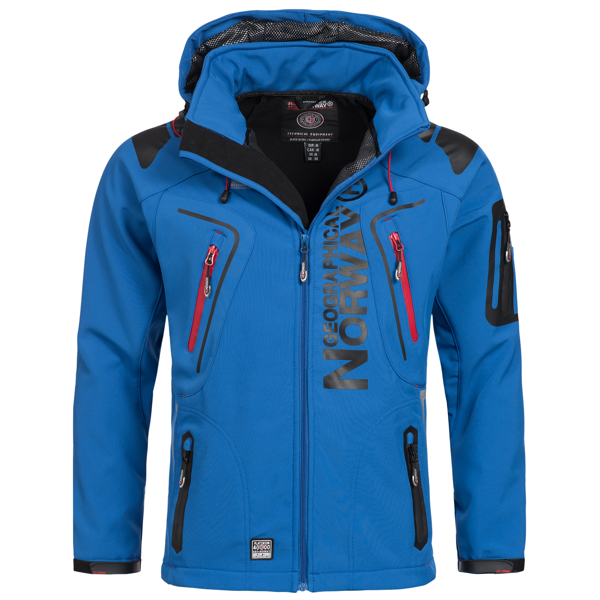 geographical norway tambour men 39 s softshell jacket outdoor ebay. Black Bedroom Furniture Sets. Home Design Ideas