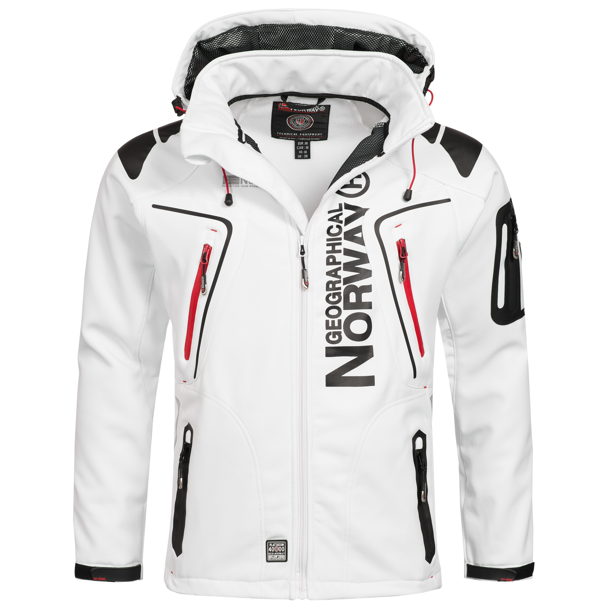 geographical norway tambour herren softshell jacke outdoor ebay. Black Bedroom Furniture Sets. Home Design Ideas