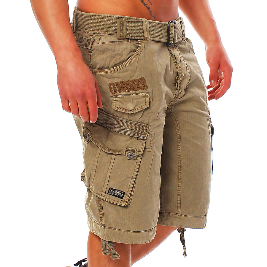 Geographical-Norway-People-Panoramique-Herren-Bermuda-Cargo-Shorts-Kurze-Hose