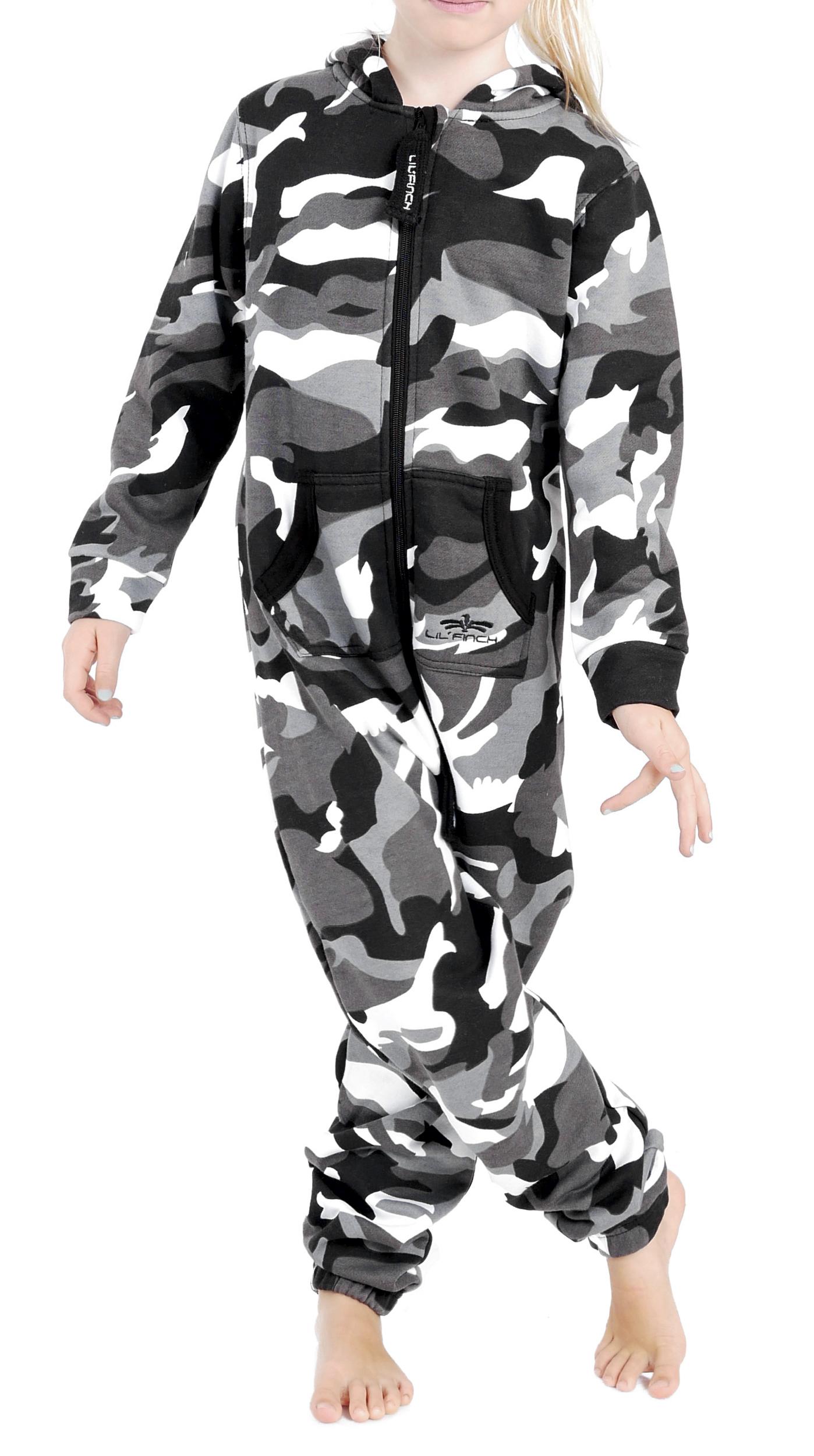 LIL-039-Finch-LFV2-Kinder-Jumpsuit-Jungen-Maedchen-Overall-Kids-Jogger-Onesie-Anzug